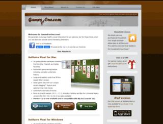 gamesforone.com screenshot