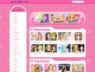 gamesgirls.club screenshot