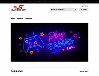 gameshop.com.sg screenshot
