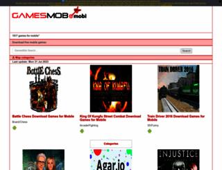 gamesmob.mobi screenshot