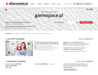 gamespace.pl screenshot