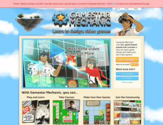 gamestarmechanic.com screenshot