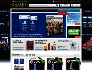 gamestheshop.com screenshot