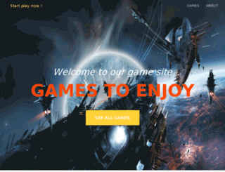 gamestoenjoy.com screenshot