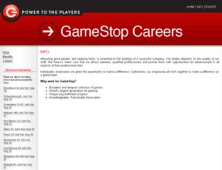 gamestopcareerscorp.silkroad.com screenshot