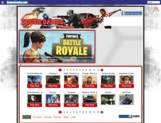 gamestough.com screenshot