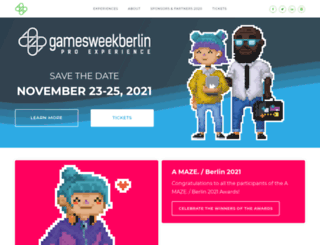 gamesweekberlin.com screenshot