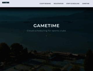 gametime.net screenshot