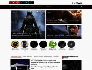gamevicio.com.br screenshot