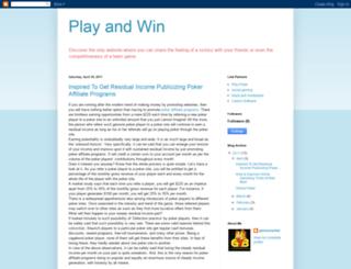 gameyourbet.blogspot.com screenshot