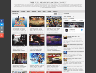 gamezoneusa.blogspot.com screenshot