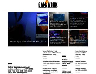 gamificationofwork.com screenshot