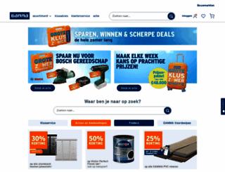 gamma.nl screenshot