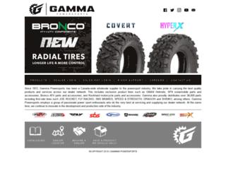 gammasales.com screenshot