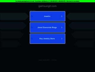 gamsungit.com screenshot
