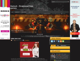 gamub.blogspot.com screenshot