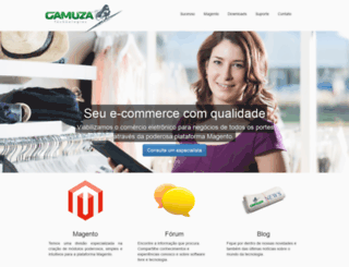 gamuza.com.br screenshot