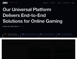 gan.com screenshot