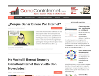 ganaconinternet.com screenshot