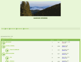 ganduriefemere.online-talk.net screenshot