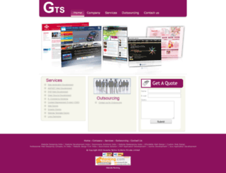 ganeshatechnosystems.com screenshot