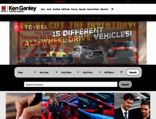 ganleytoyota.com screenshot