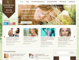 ganodermalucidumreishi.com screenshot