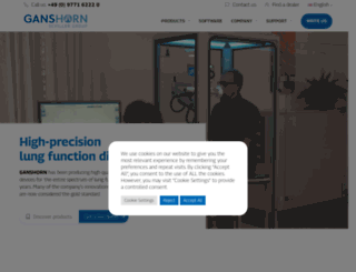 ganshorn.de screenshot