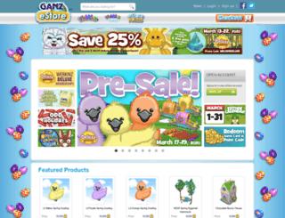 ganzestore.com screenshot