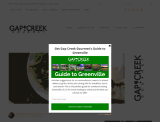 gapcreekgourmet.com screenshot