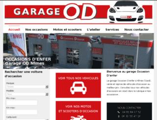 garageod.fr screenshot