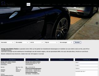 garagepeeters.be screenshot