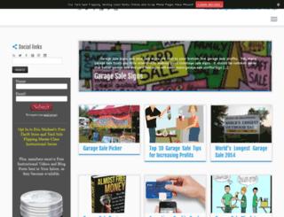 garagesaleacademy.com screenshot