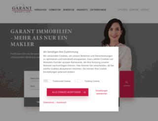 garant-immo.de screenshot
