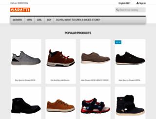 garatti.com screenshot