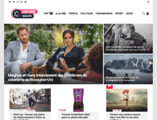 garconne-magazine.fr screenshot