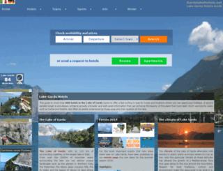 gardalakehotels.net screenshot