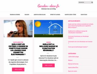 garden-deco.fr screenshot