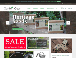 garden-gear.co.uk screenshot
