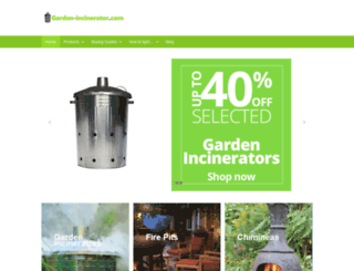 garden-incinerator.com screenshot