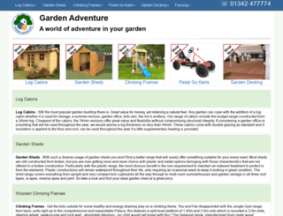 gardenadventure.co.uk screenshot