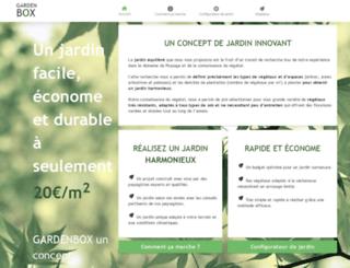 gardenbox.fr screenshot