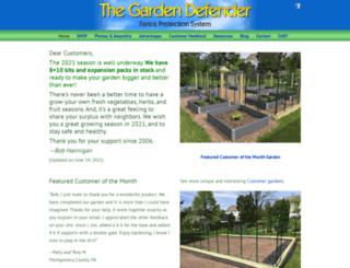 gardendefender.com screenshot