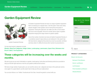 gardenequipmentreview.com screenshot