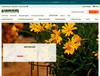 gardeners.com screenshot