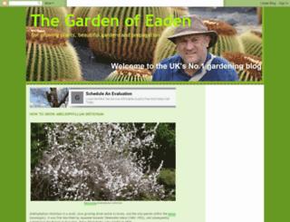 gardenofeaden.blogspot.com.au screenshot