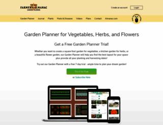 gardenplanner.jungseed.com screenshot