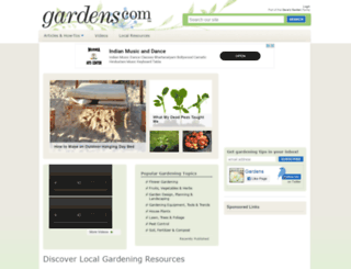 gardens.com screenshot
