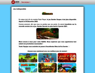 gardenscapes.gamespassport.com screenshot