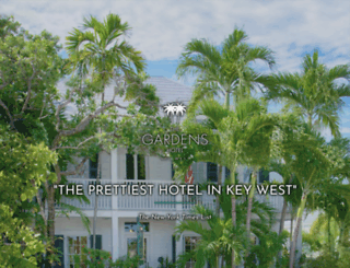 gardenshotel.com screenshot